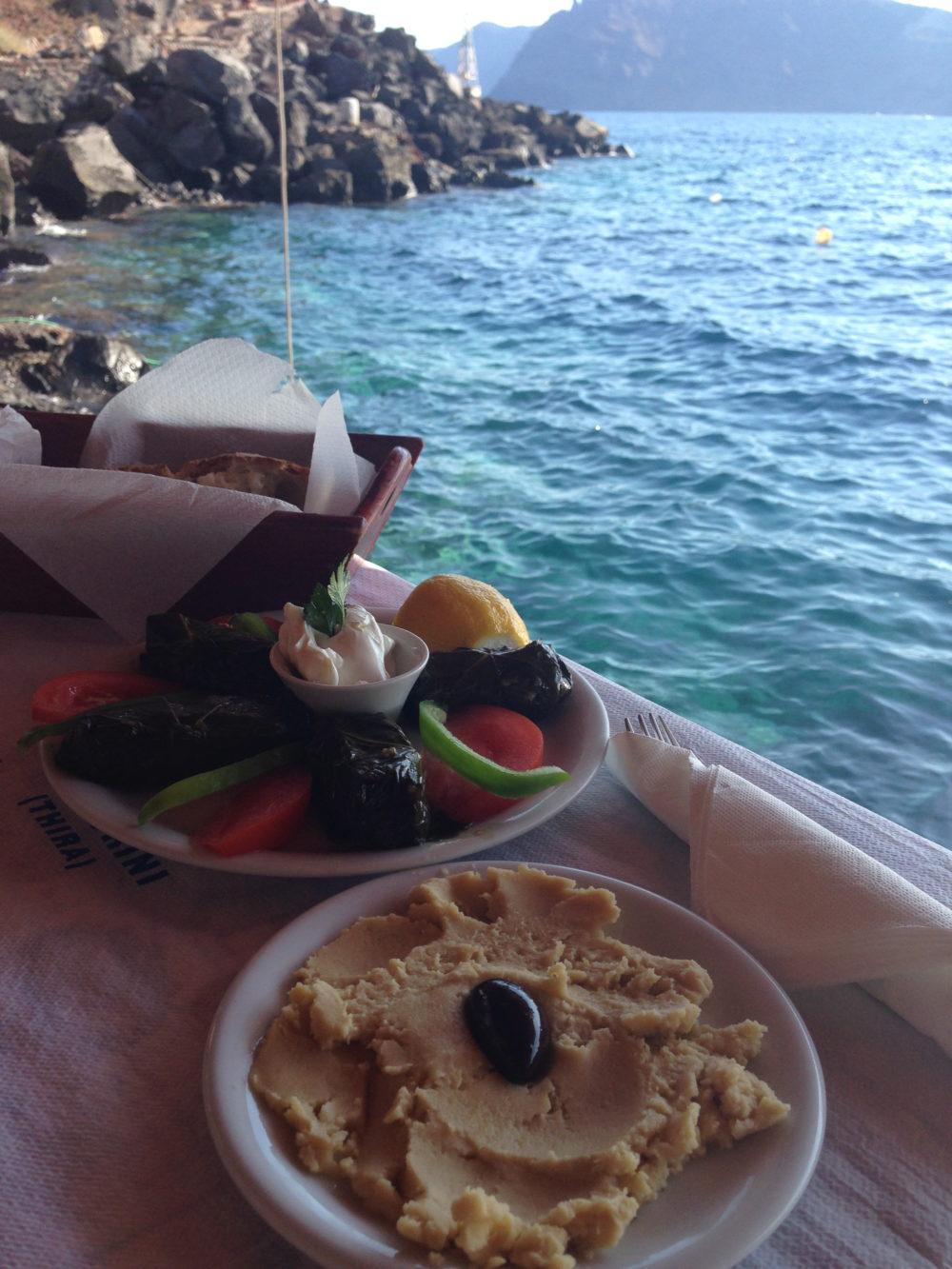 Dolmas Amoudi Bay, Santorini