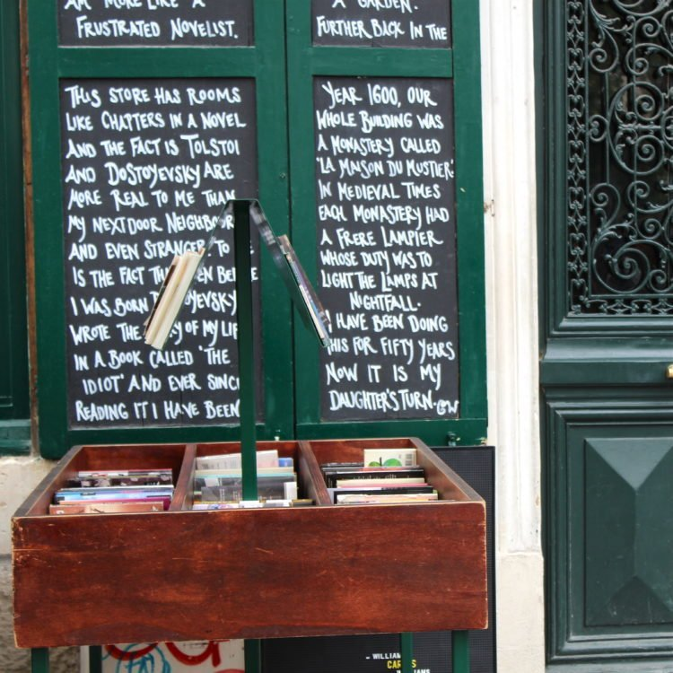 Shakespeare and Co. Paris