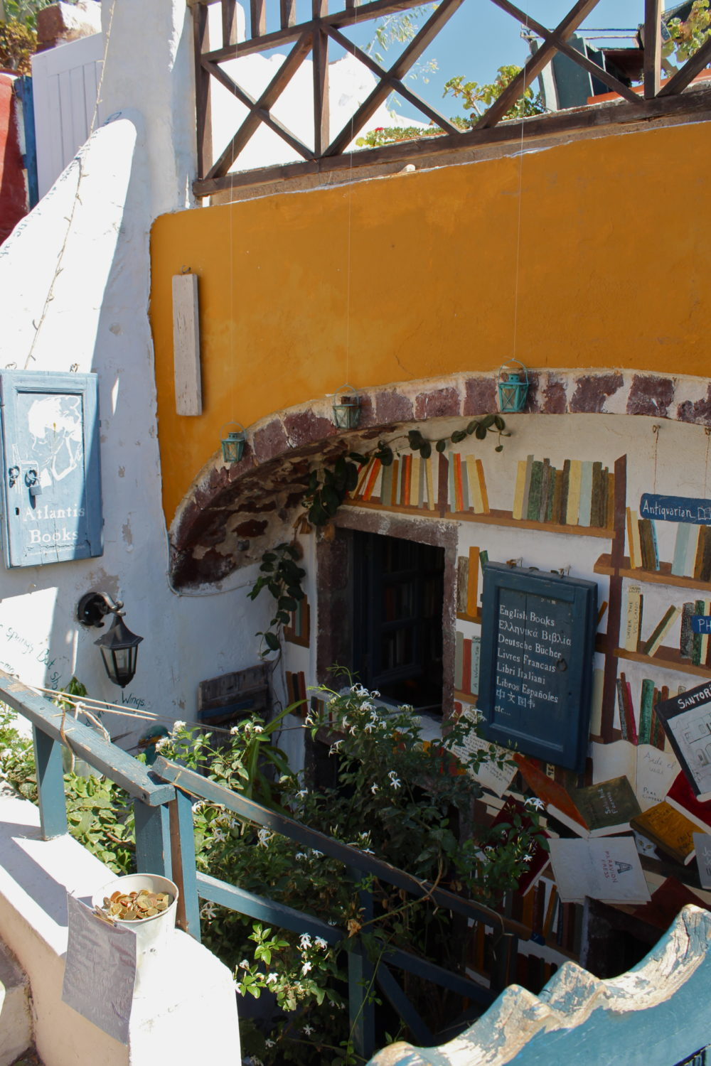 Atlantis Books Santorini