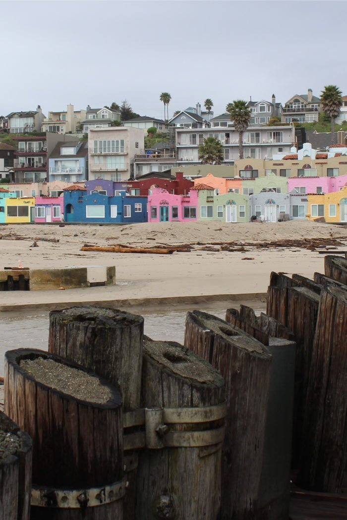 Gray Day in Colorful Capitola