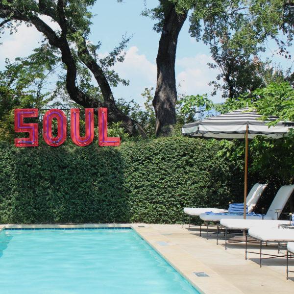 Hotel Saint Cecilia Pool. Austin, TX