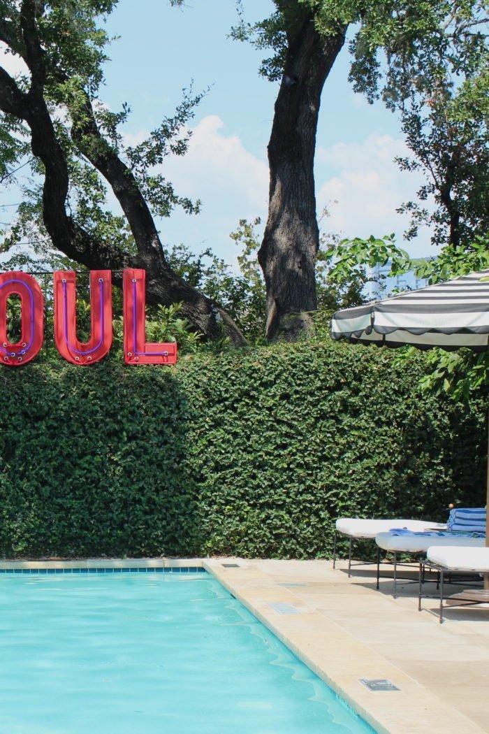 Hotel Saint Cecilia: Austin, Texas