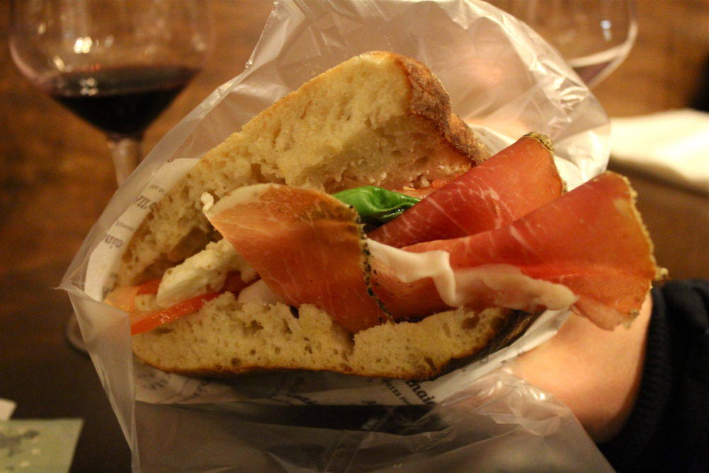 Panino from All'Antico Vinaio