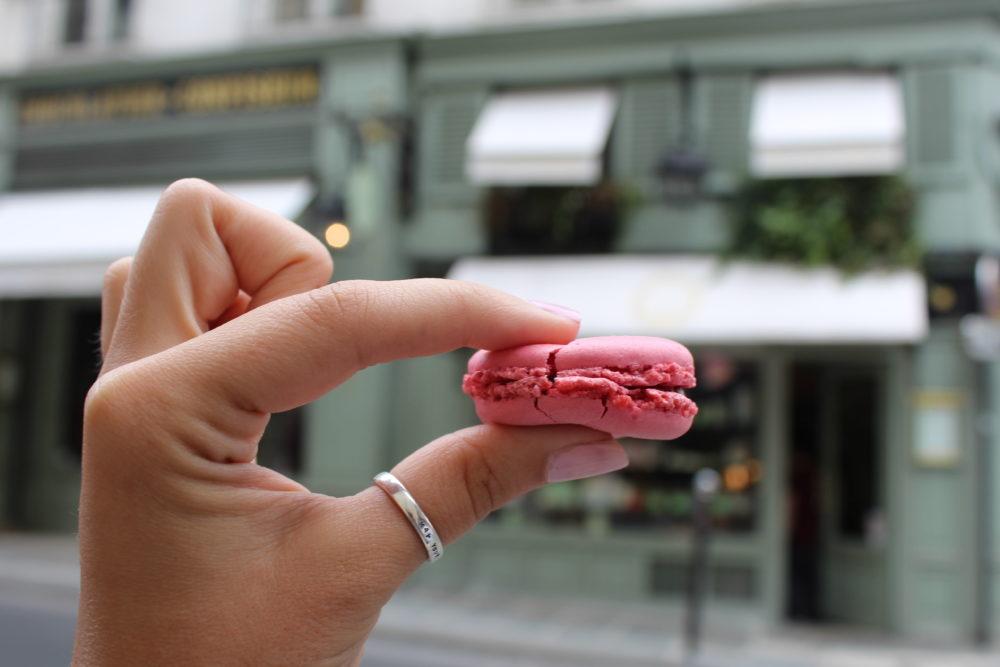 Laduree Macaron. St Germain
