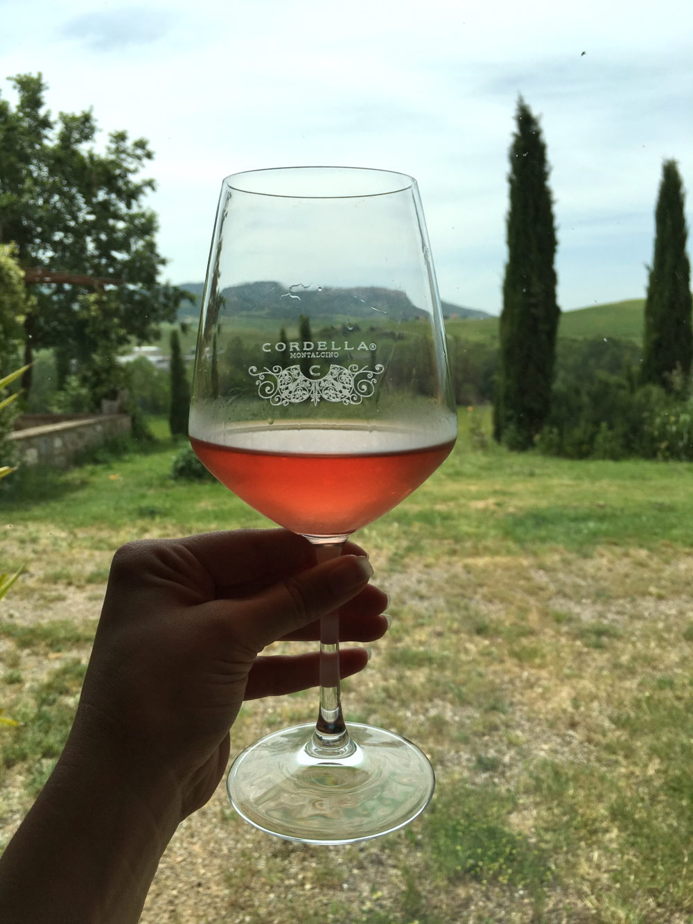 Petite Suitcase- Cordella winery