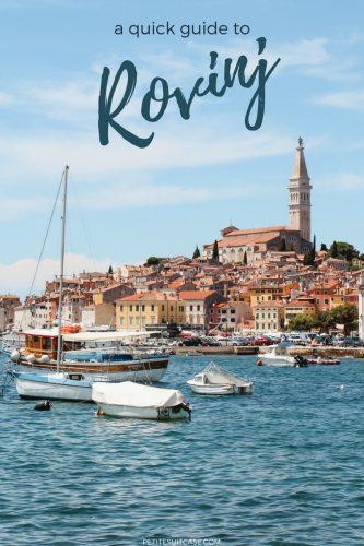Quick Guide to Rovinj, Croatia. #Croatia | Europe Travel