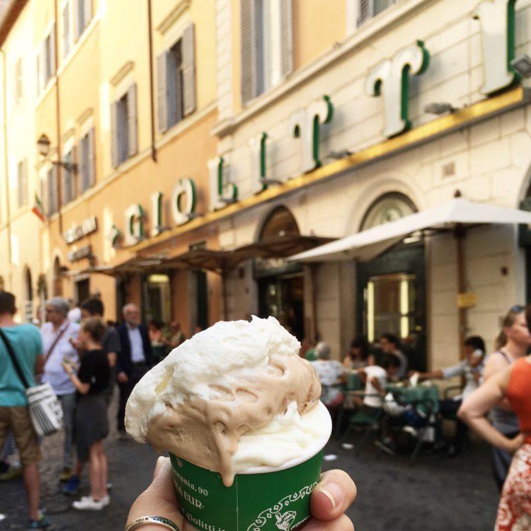 Where to go for Gelato in Rome