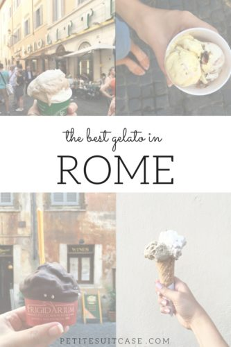 Where to find the best gelato in Rome, Italy.