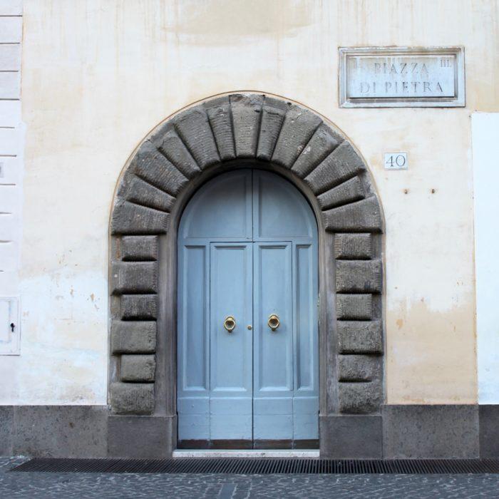 Doors of Rome- Petite Suitcase