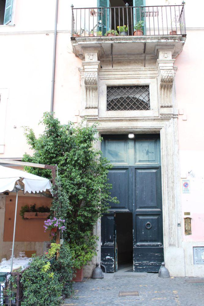 Doors Rome- Petite Suitcase