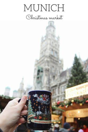 Munich Christmas Market. Germany.