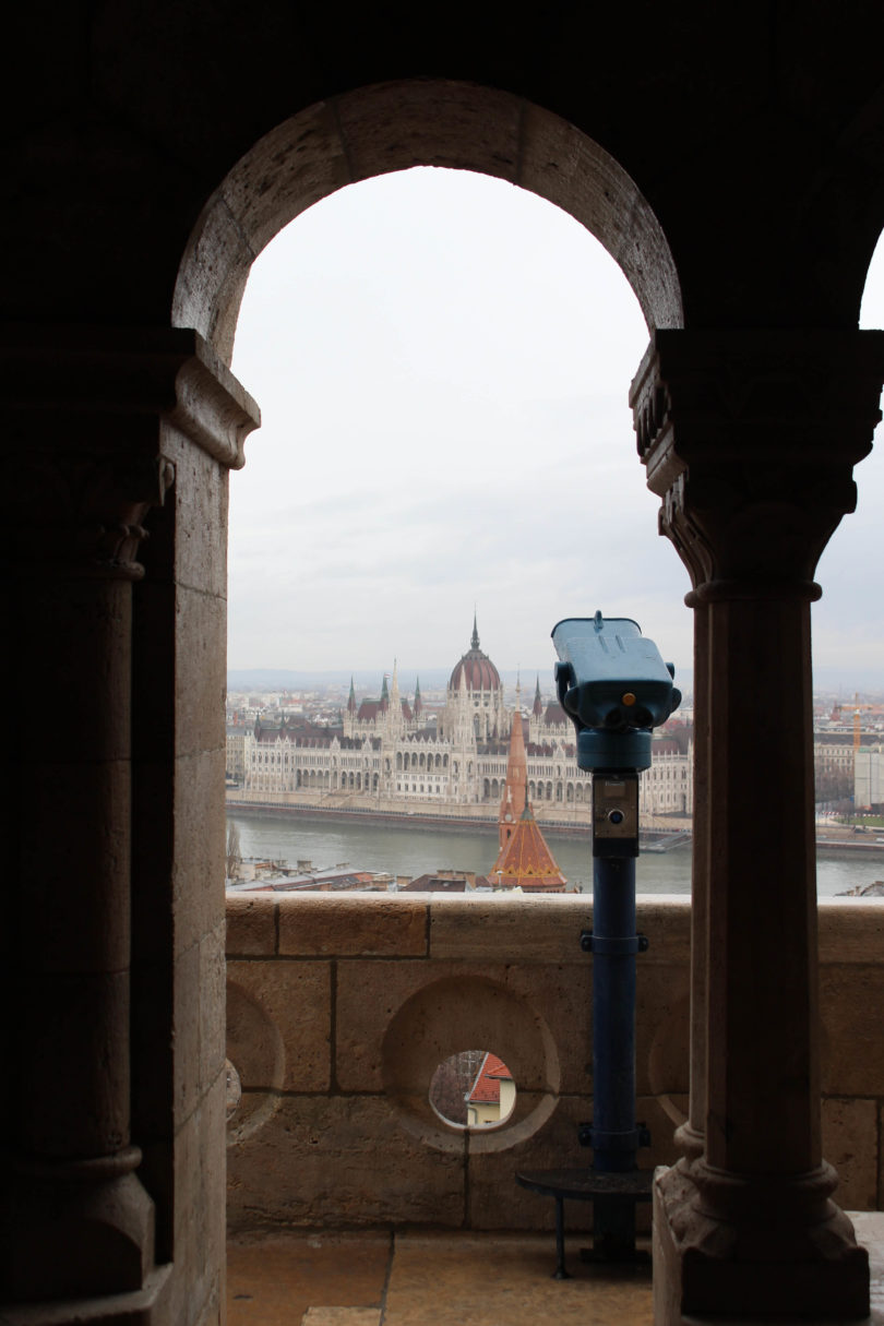 Fisherman's Bastion. Budpapest