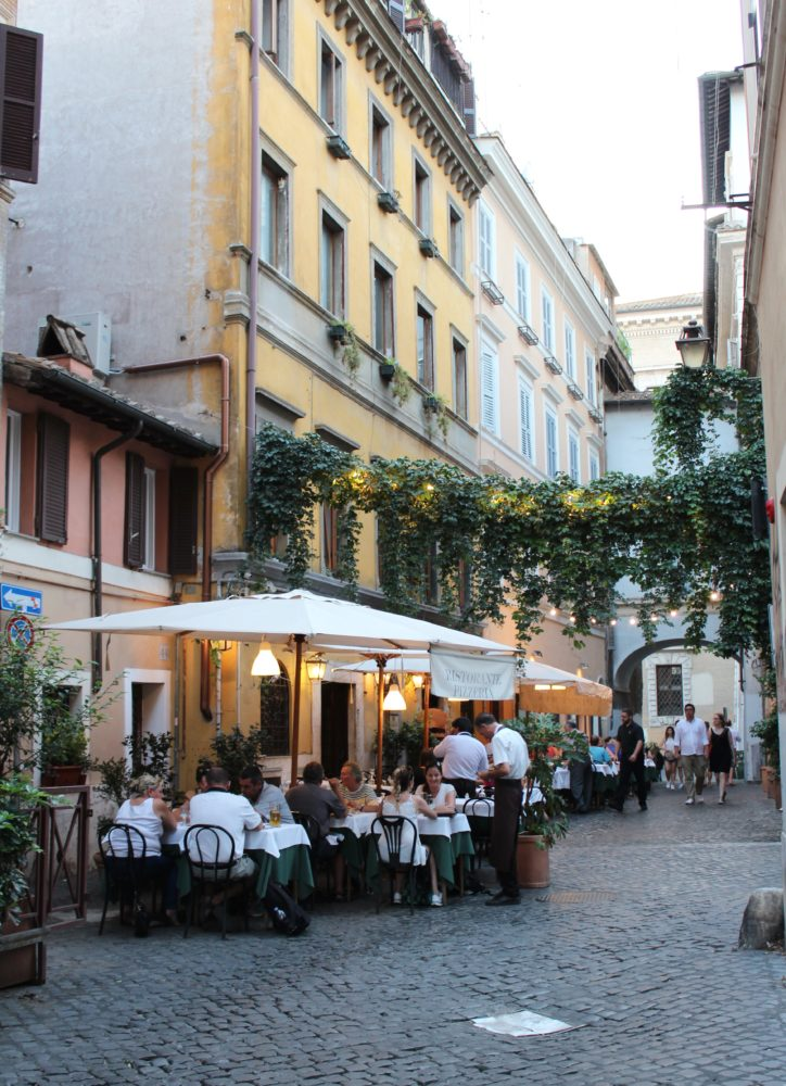 Rome travel guide. Trastevere