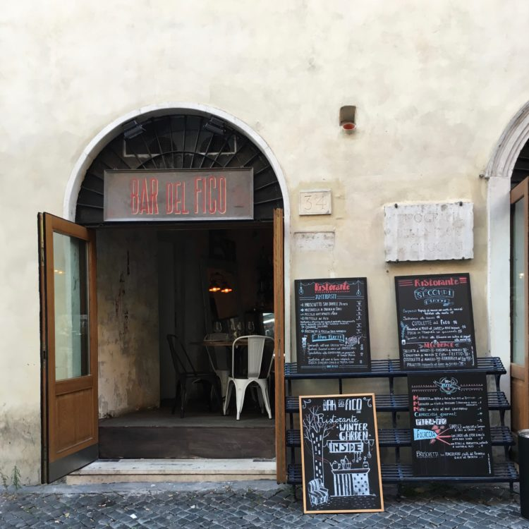 Bar del Fico, Rome Travel Guide