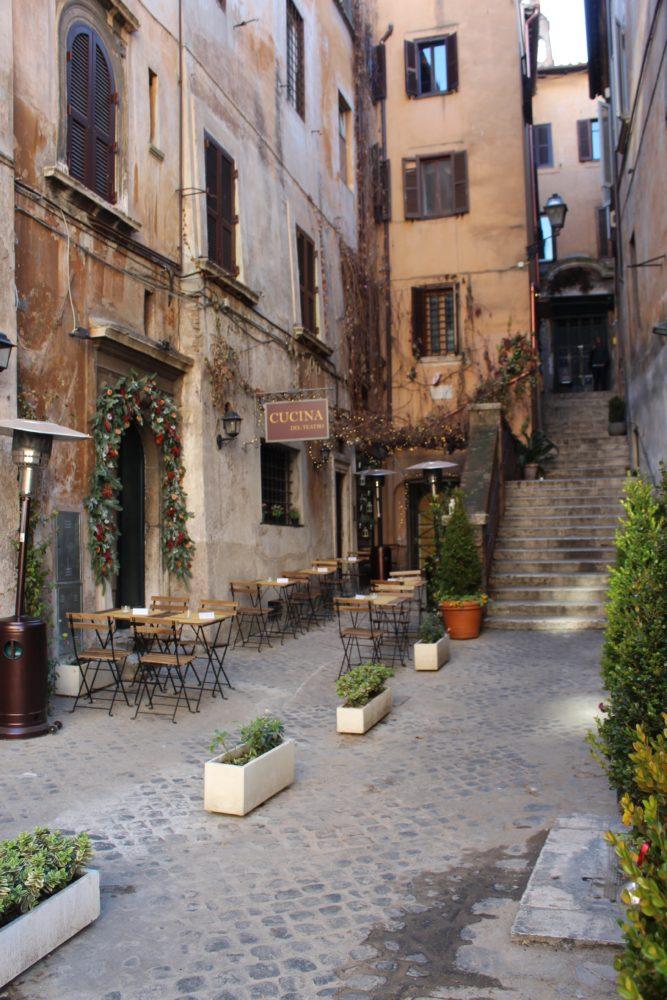Rome, Italy. Teatro Gelateria