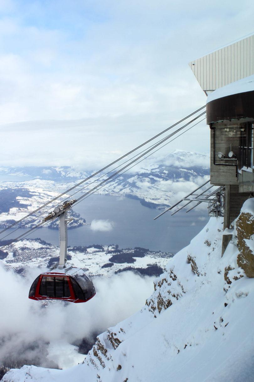 Mount Pilatus. Lucerne, Switzerland.