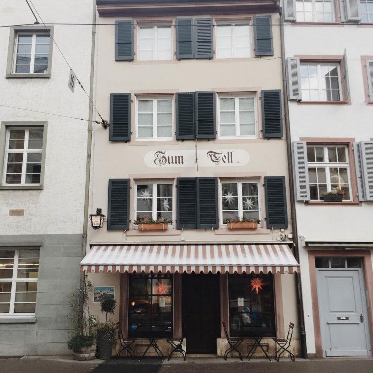 Cafe Basel Switzerland