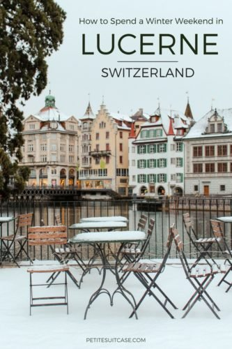 Winter Weekend in Lucerne