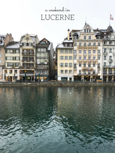 Lucerne, Switzerland Travel Guide