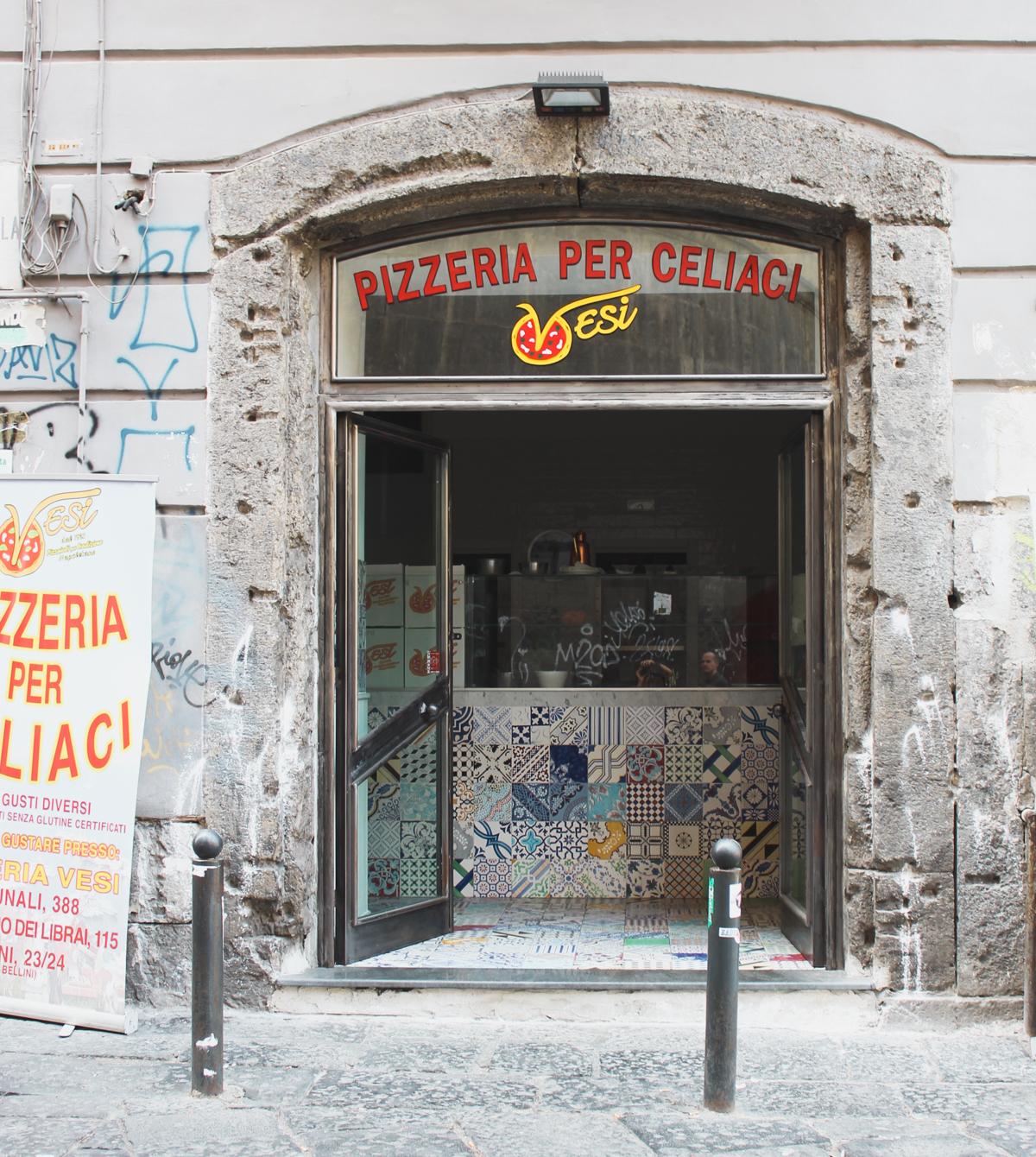 Gluten free pizza Naples