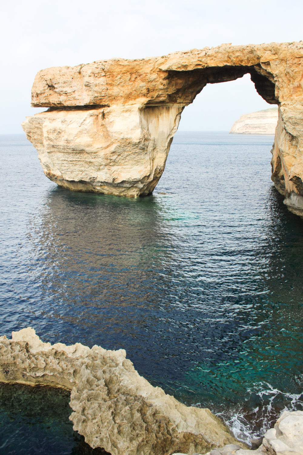 Malta azure window. guide to Malta