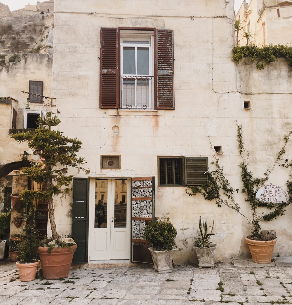 Small towns in Italy Matera