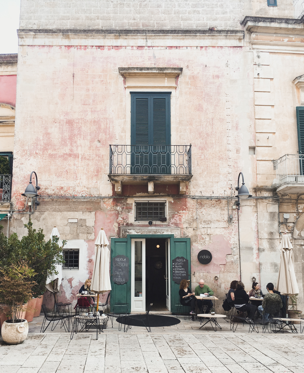 Restaurants in Matera