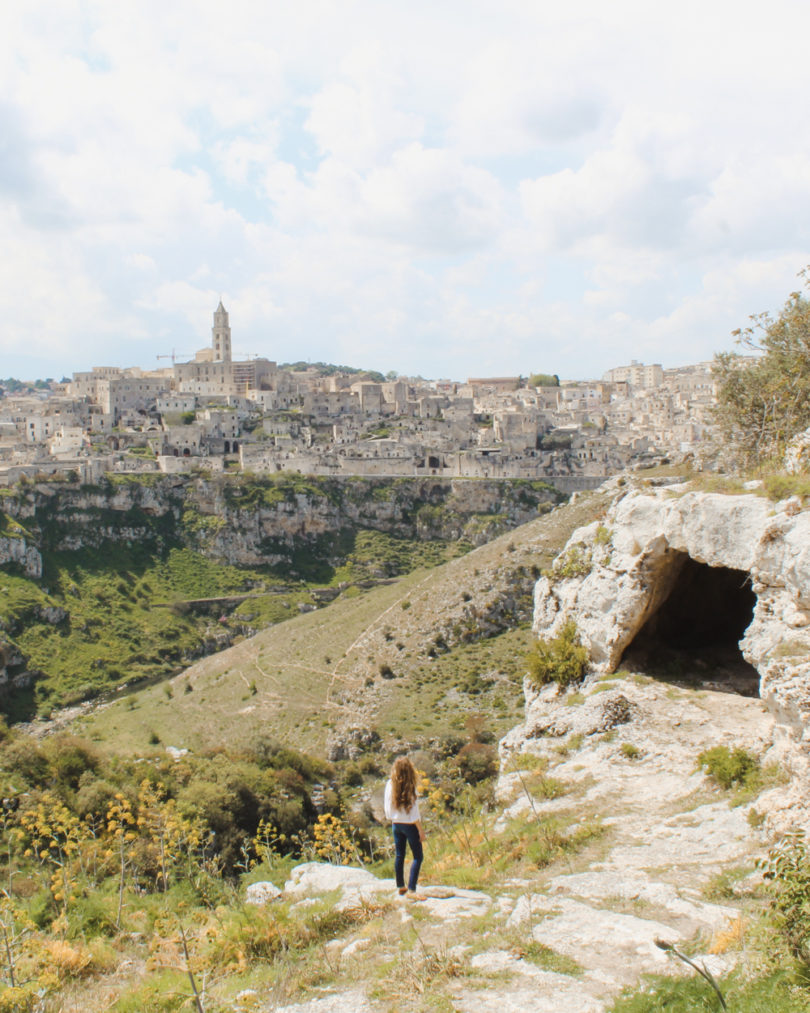 Small Towns in Italy. Matera