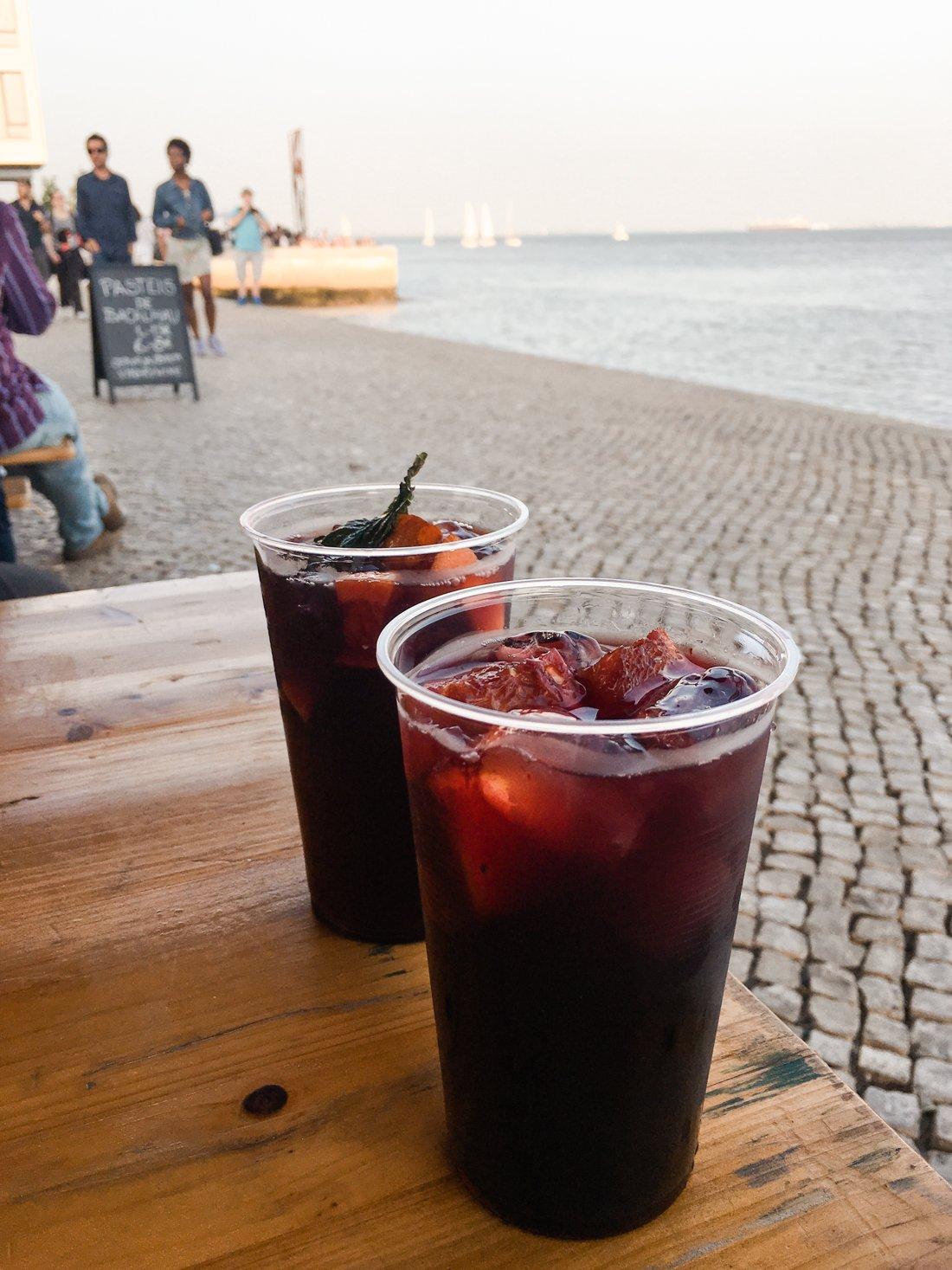 Lisbon Travel Guide. Sangria