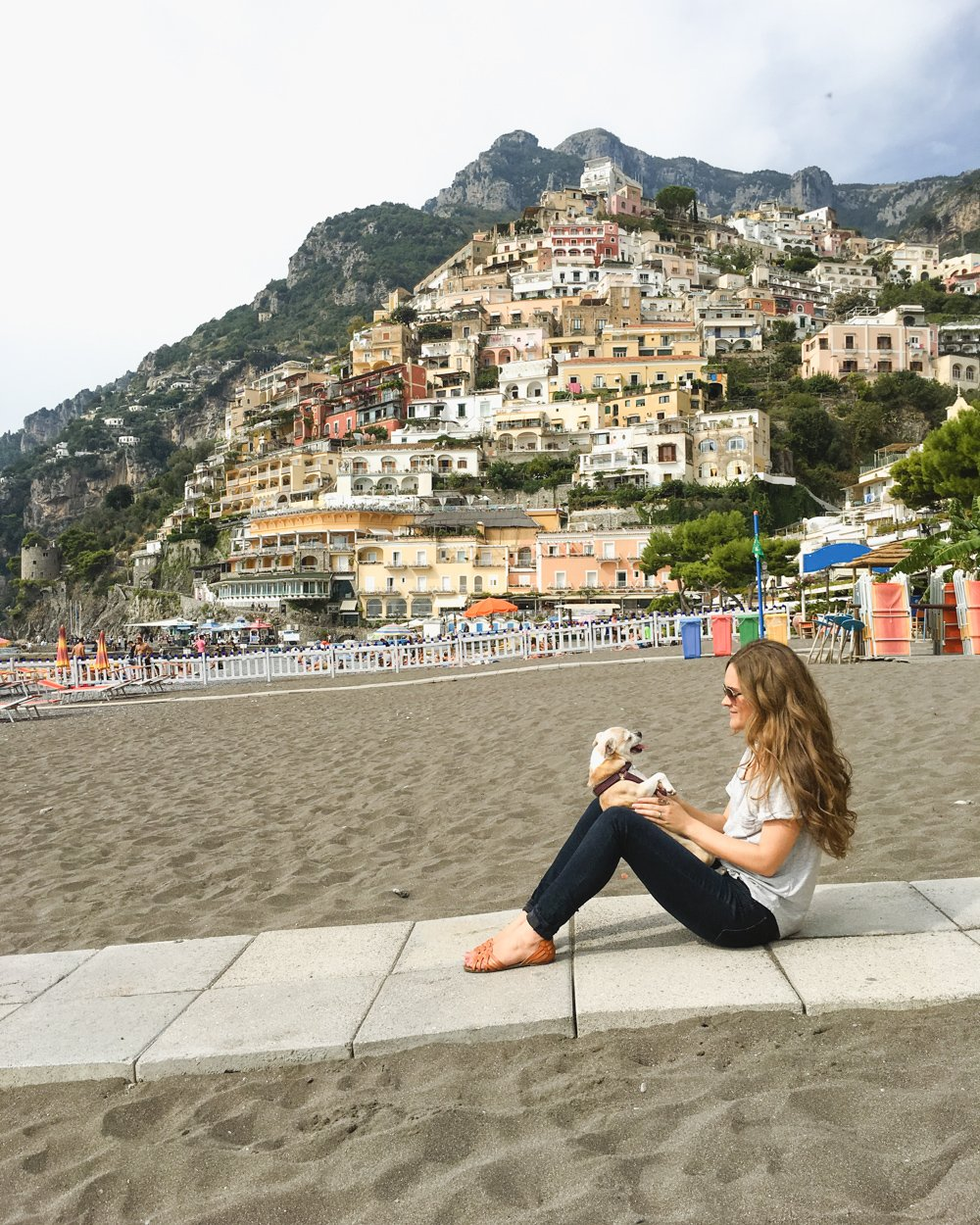Positano Travel Guide. Positano with a Dog