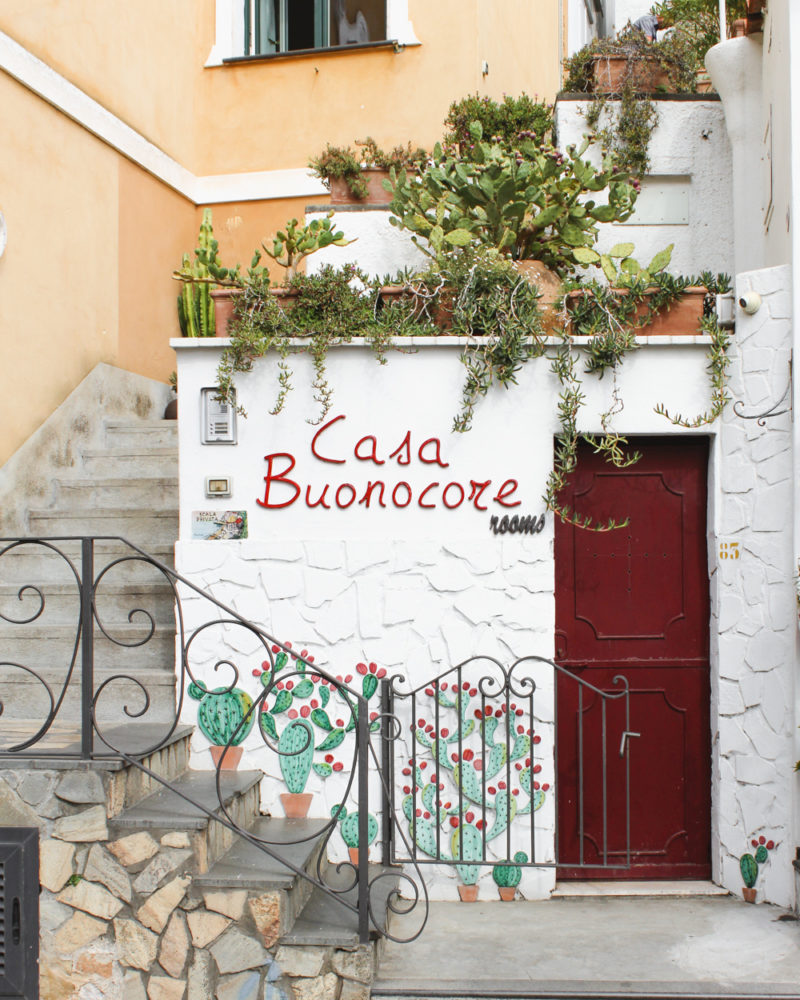 Positano Travel Guide. Casa Buoncore