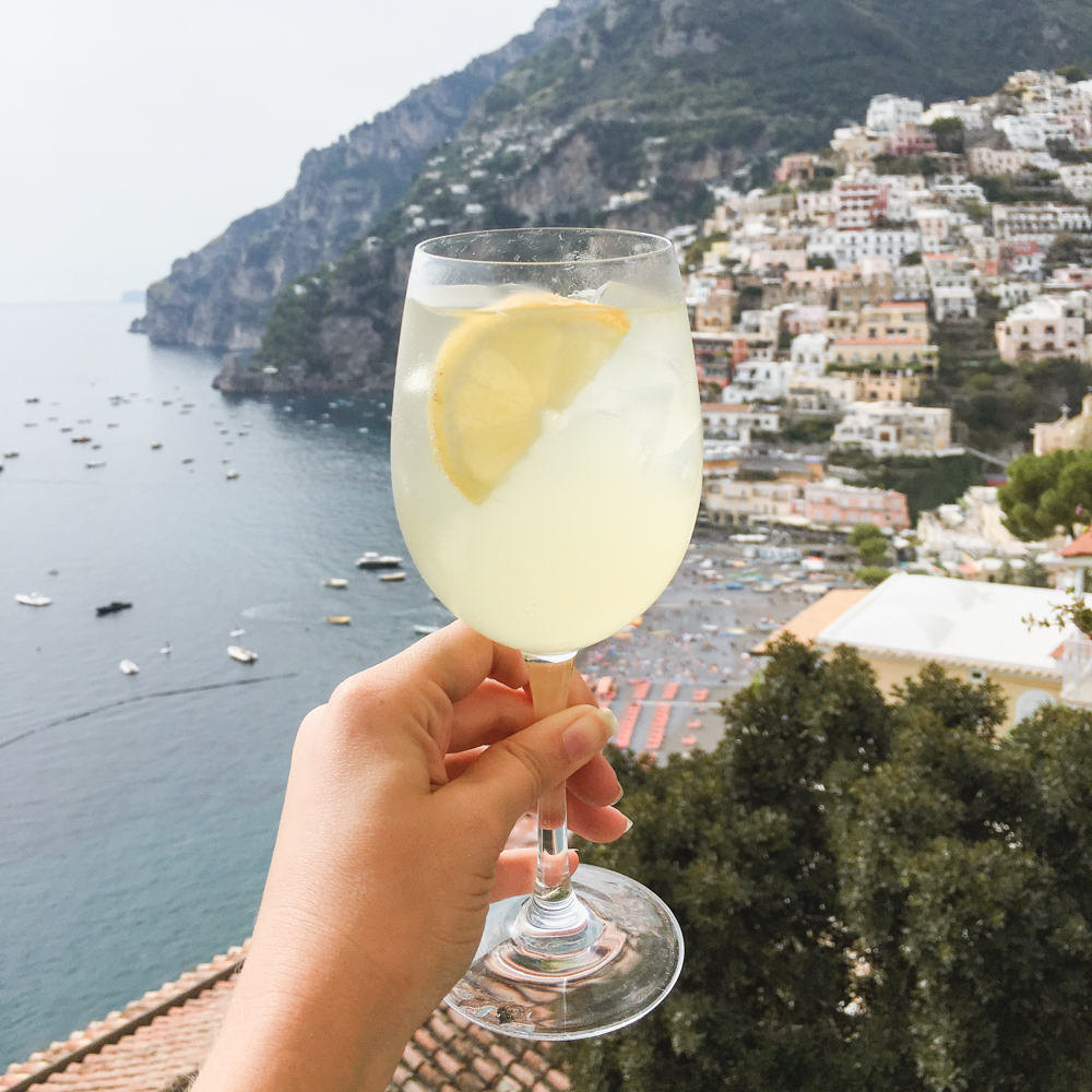 Positano Travel Guide. Bar Bruno. Spritz