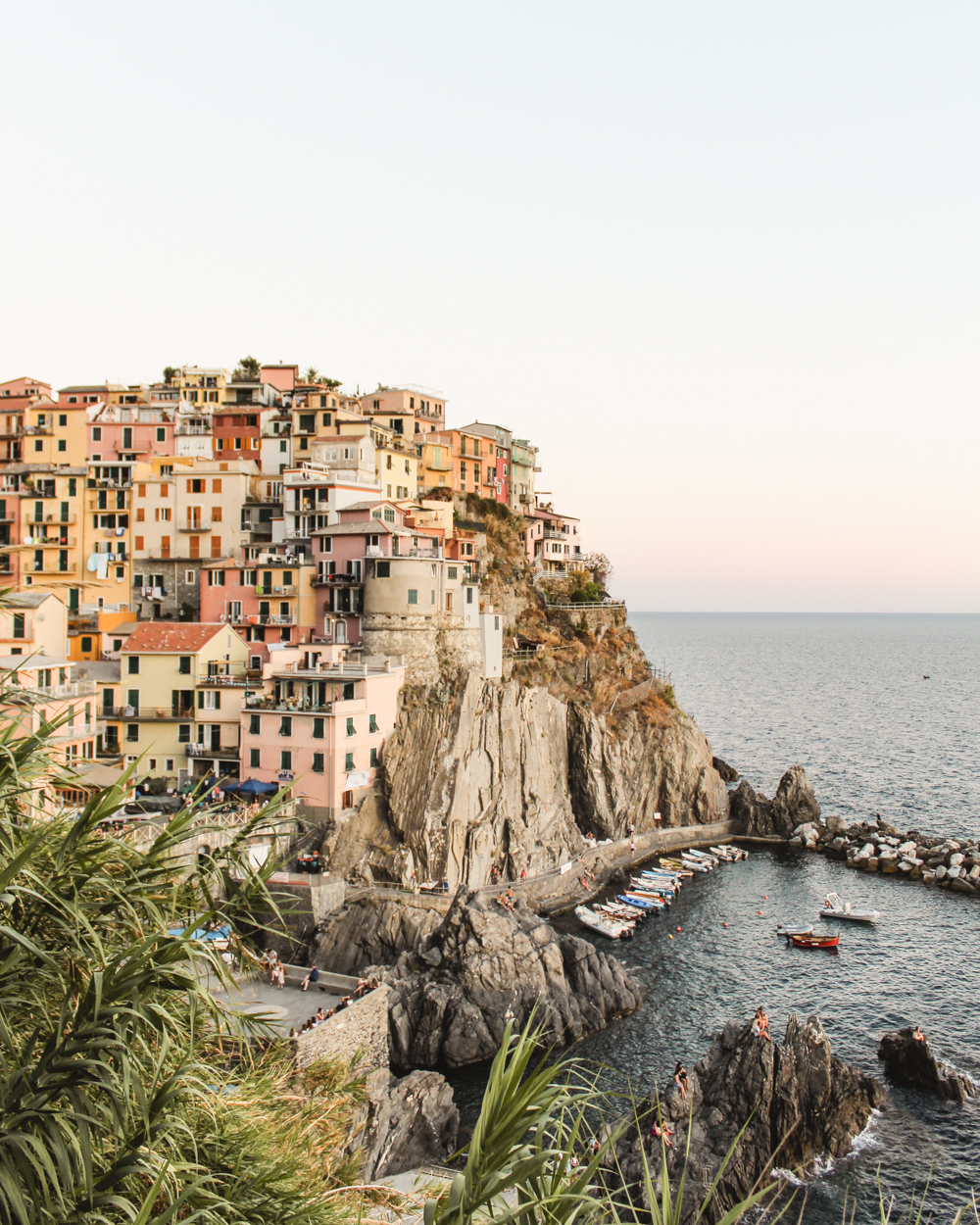 How to see Cinque Terre in Two Days. Manarola