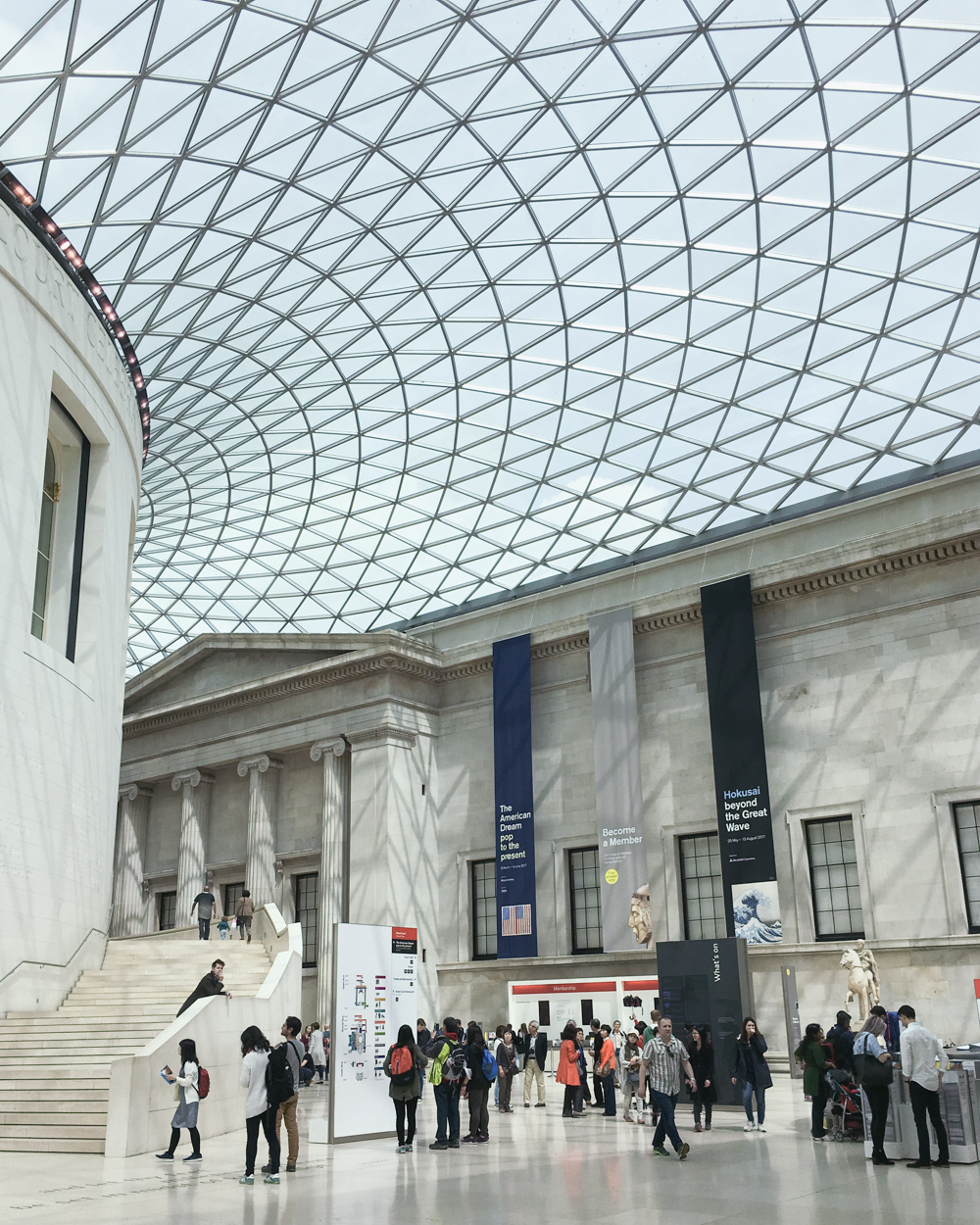 Exploring London. British Museum