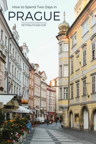 What to see and do in Prague. How to see Prague in two days.