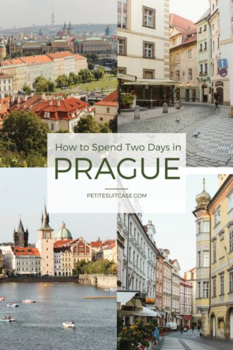 Two day itinerary for how to experience the best of Prague.