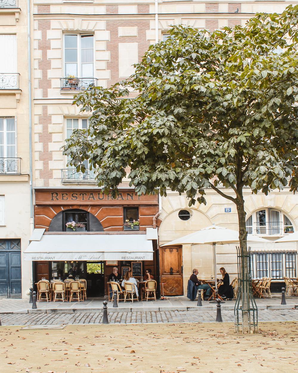 Visit Paris in the Fall-