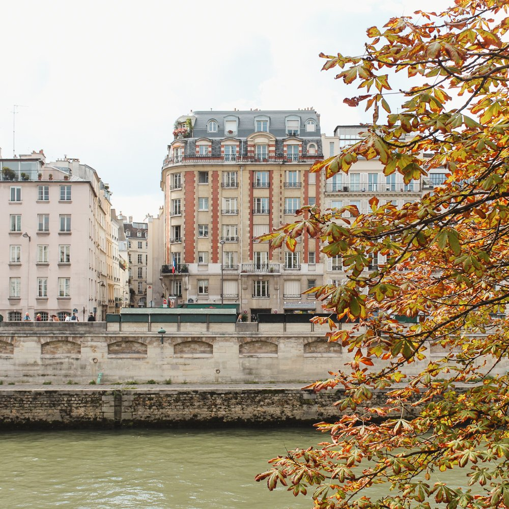 Visit Paris in the Fall