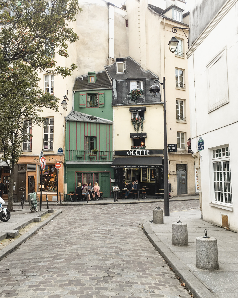 Paris in the Fall Odette