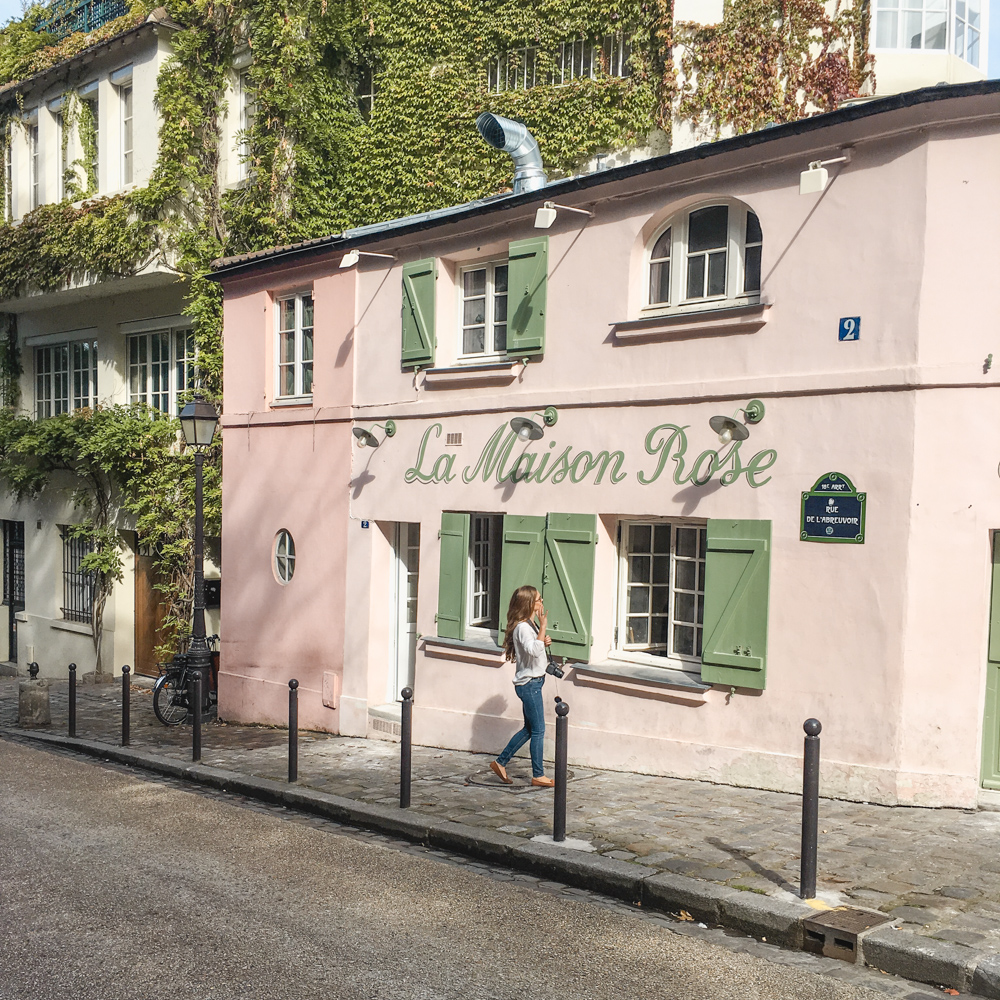 Visit Paris in the Fall- Montemartre