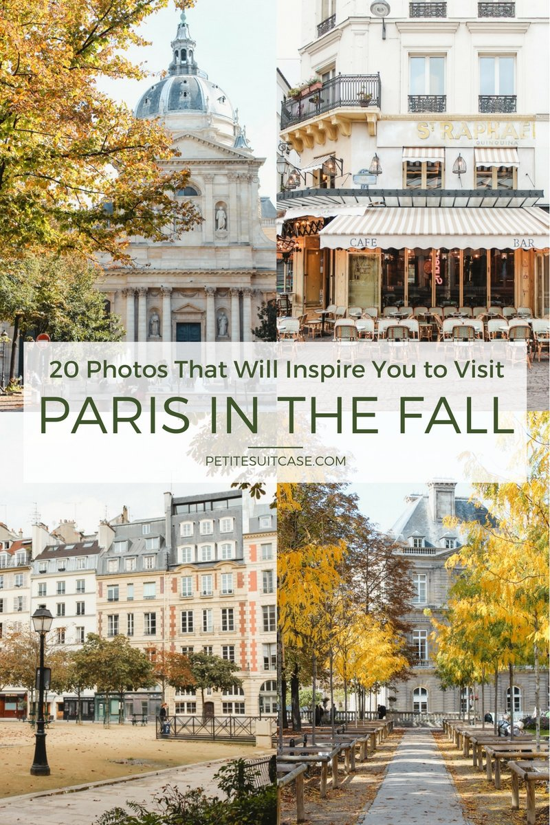 Photos to Inspire You to Visit Paris in the Fall