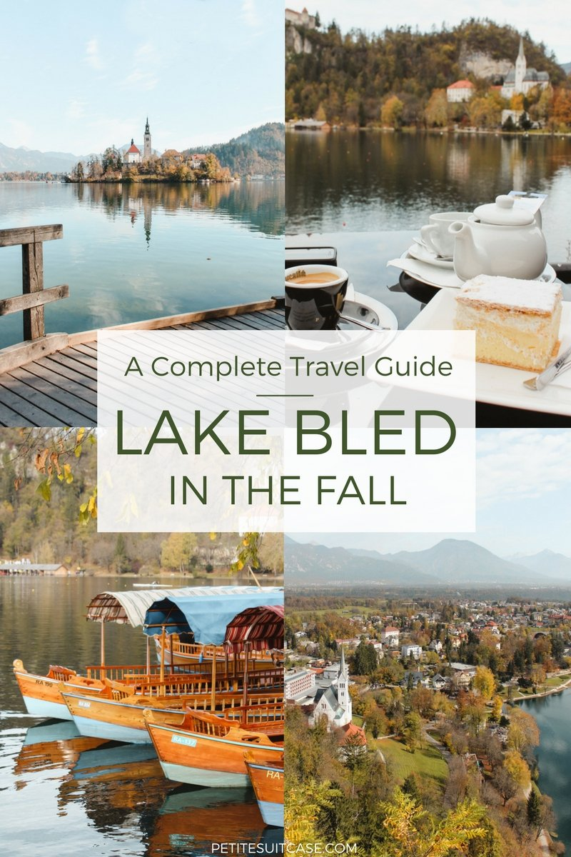 Lake Bled in the Fall
