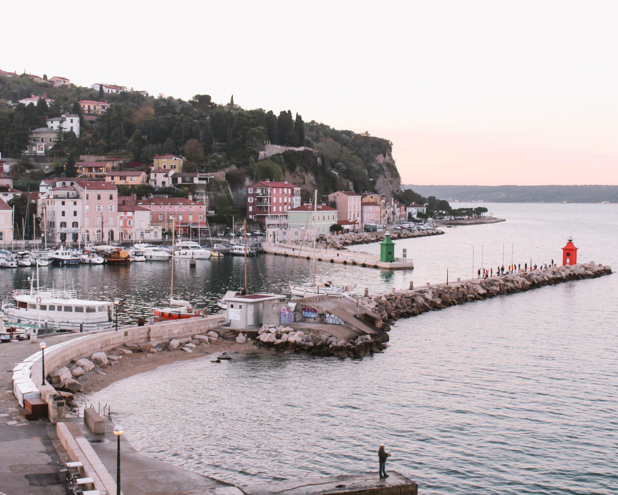 One day in Piran- Hotel Piran