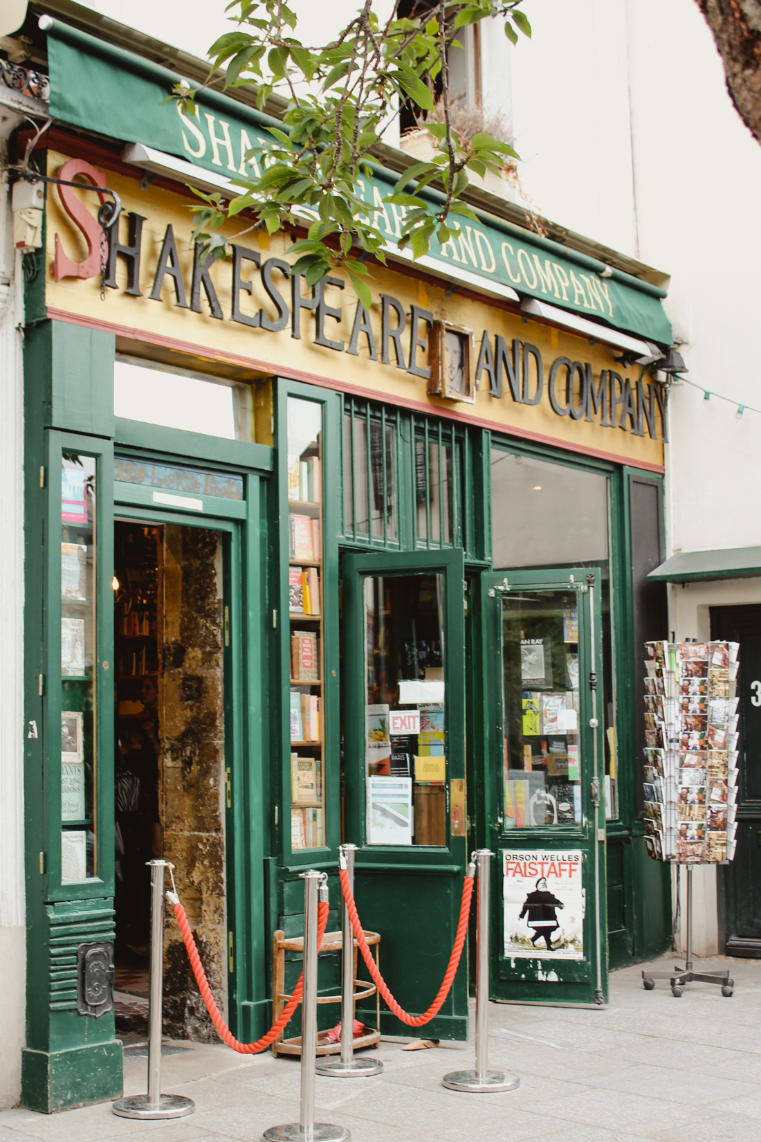 Shakespeare and Co. Paris Layover
