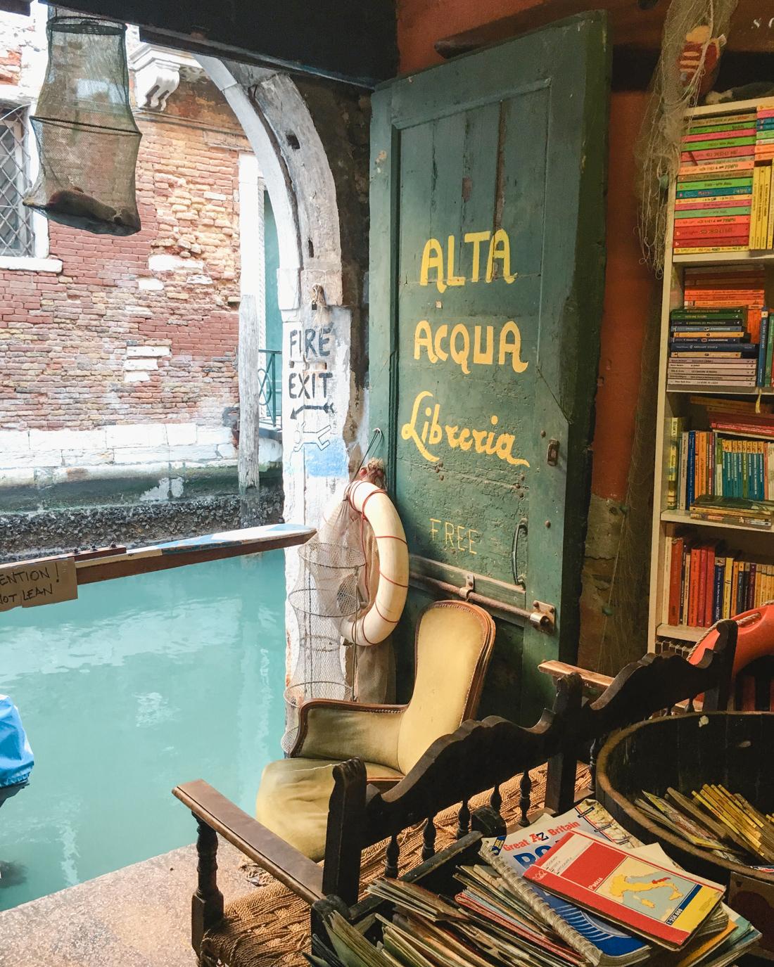 Alta Acqua Liberia. Venice
