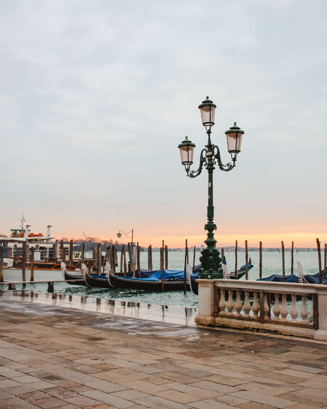 Venice in the winter