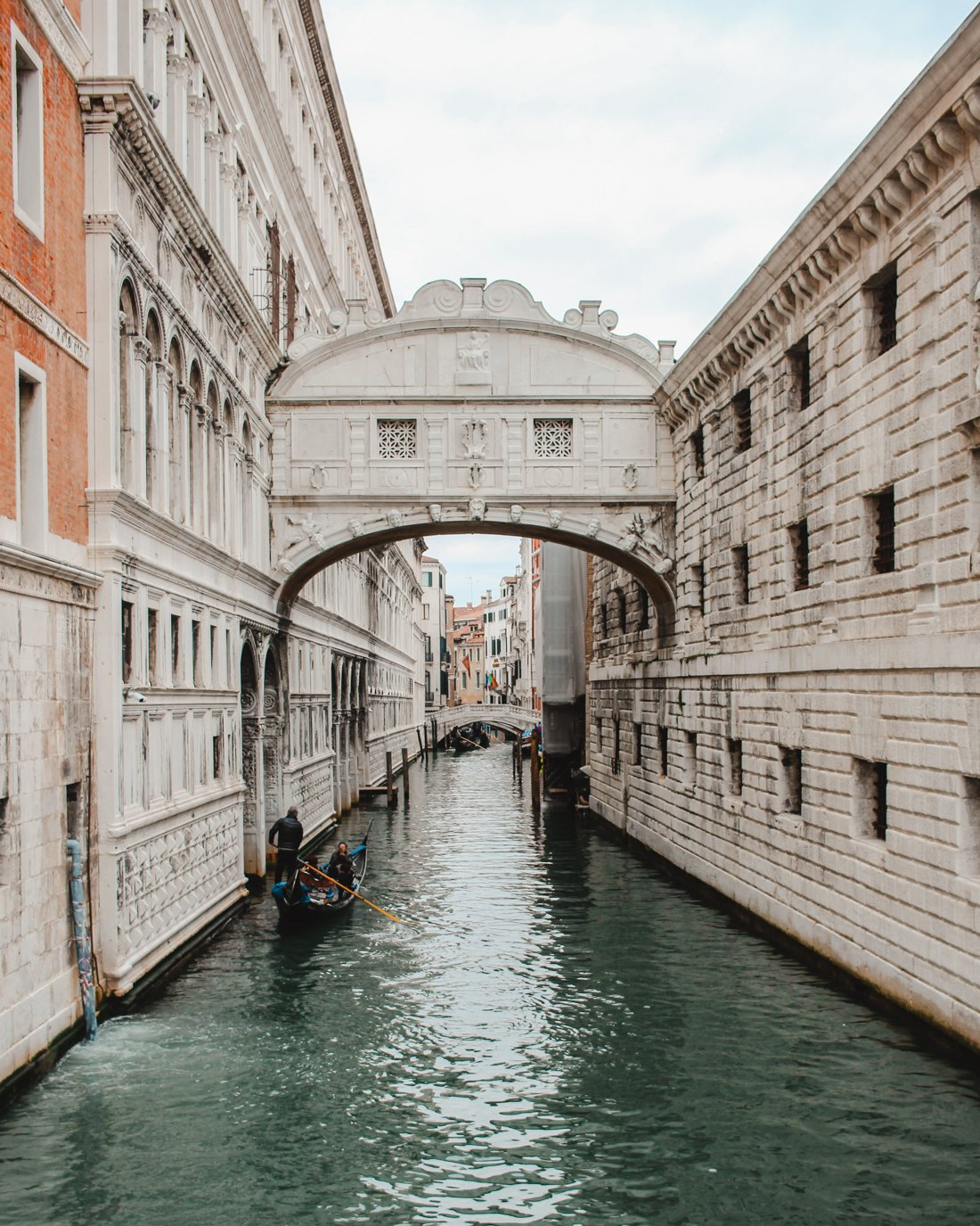Venice in the winter- Bridge of Sighs