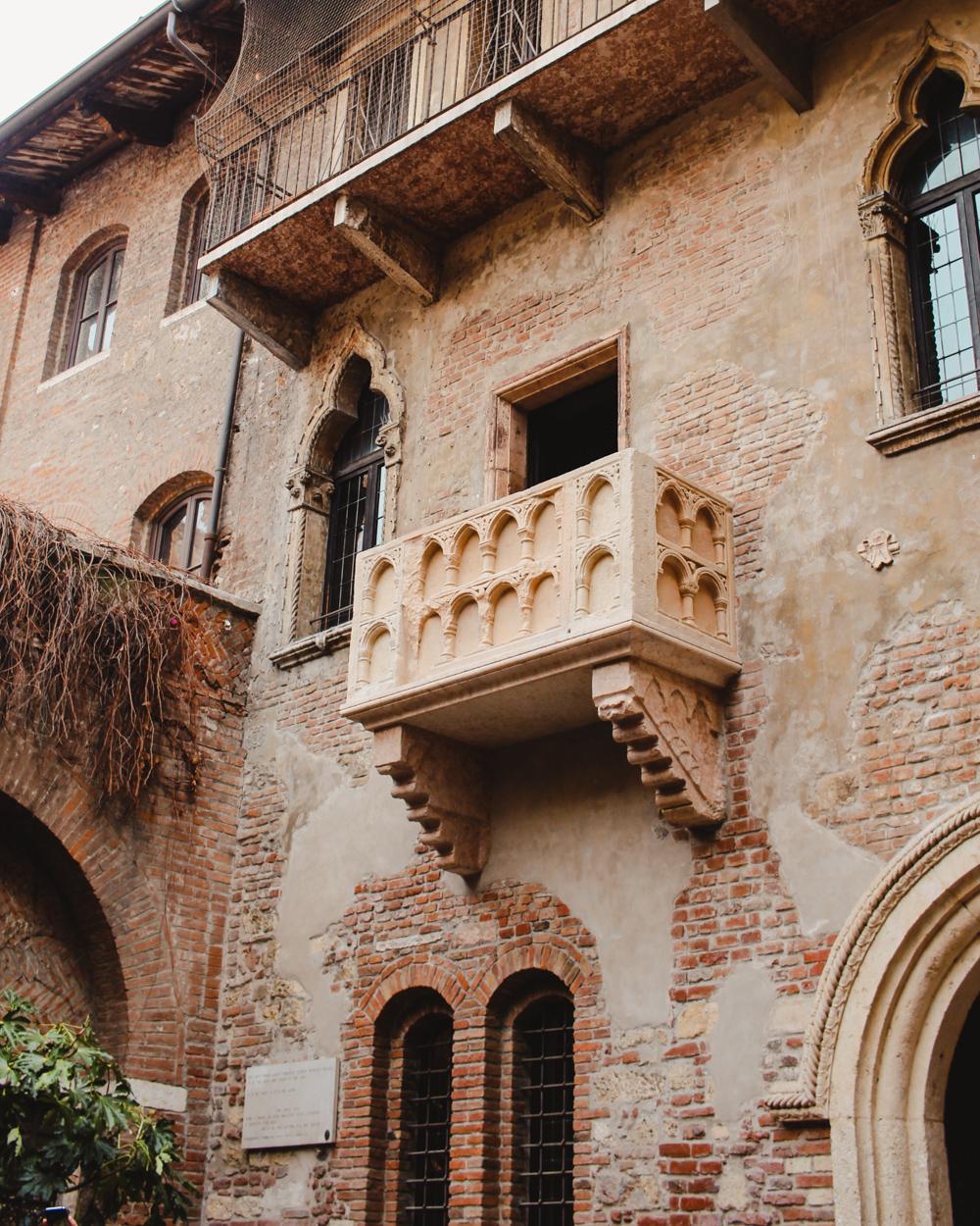 Juliet's balcony Verona