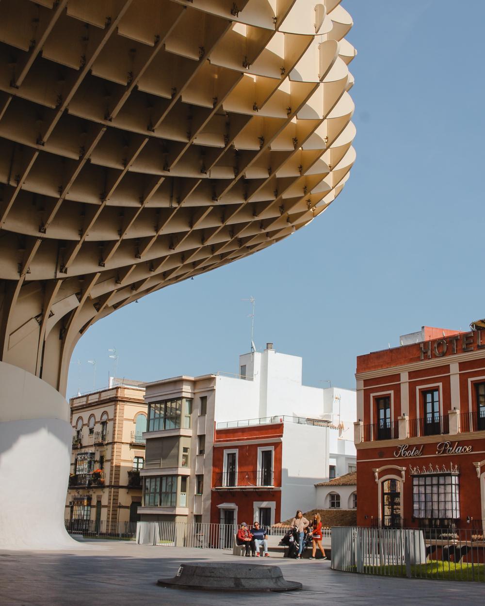 Travel Guide Seville, Spain. Metropol parasol