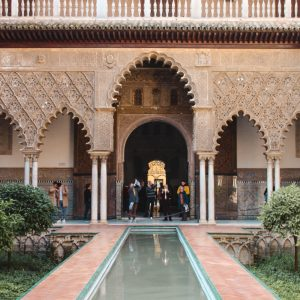 Things to do in Seville. Alcázar of Seville, Spain.